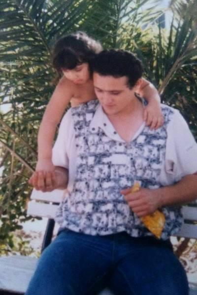 Monty y su padre.